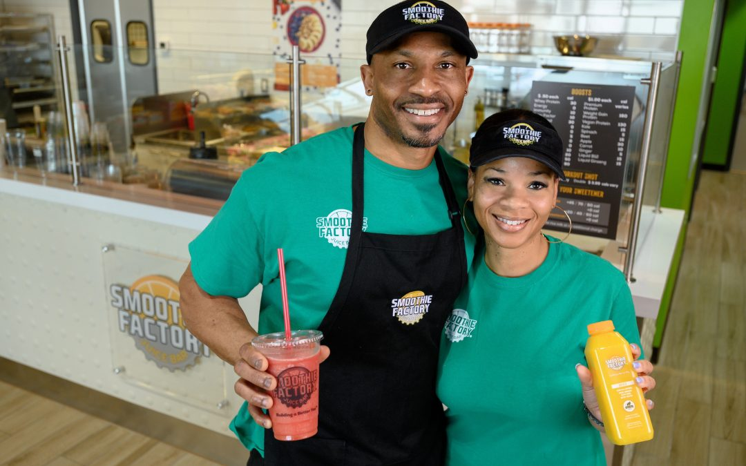 Former Dallas Cowboy Tackles Healthy Business Decision with Smoothie Factory