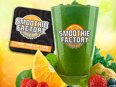 Gift Cards | Smoothie Factory®