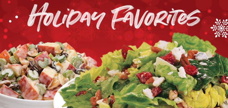Souper Salad Holiday Favorites Webslide